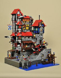 LEGO Pirates Le Quartier Brique / PTV-Large