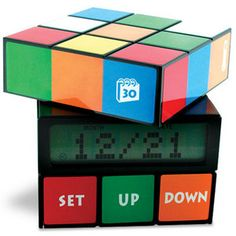 Rubik's Cube Alarm