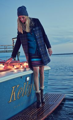 Tommy Hilfiger ensures your holiday outfit is chic and warm at the same time.