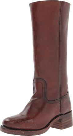 8133ff3033 Amazon.com  Frye Womens Campus 14L Brown Boots 9.5 B - Medium  Shoes