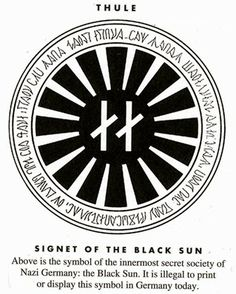 Black Sun+++Secret nazi Symbol+++ They know Planet X is real and they're hiding this fact. It's dangerous Earthquakes Volcanoes End Times Prophecy ATLANTEAN GARDENS: Banned Occult Secrets of the Vril Society