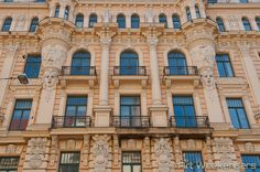 Where to find art nouveau in #Riga #Latvia http://www.artweekenders.com/art/art-nouveau-riga/ #travel