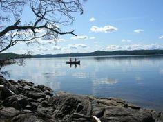 Lake Vattern, Jonkoping, Sweden.