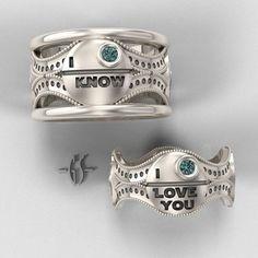 Star Wars Rings...love!