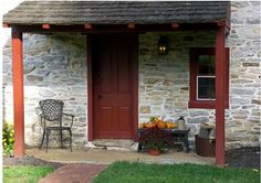 FARMHOUSE – vintage early american farmhouse in historic olde creek, pennsylvania.