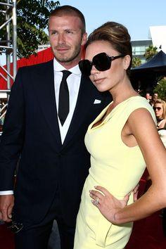 ede1bb7ac8 Victoria Beckham Square Sunglasses Victoria Beckham channeled the in a pair  of black big frames for the ESPY Awards. DESIGNER EYES