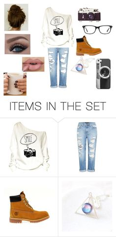 """""""Never stop smiling"""" by abygail428 ❤ liked on Polyvore featuring art"""