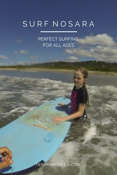 You're never too young (or old) to learn to #surf! Come to one of the world's best surf destinations to learn. #Nosara #CostaRica