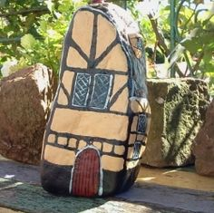 Painting Rocks - Houses & Cottages