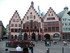 Frankfurt - been to this exact spot! Can't wait to go back again someday.