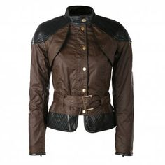 This jacket reminds me of an armadillo. Love the armor feel it has. Nice quilted accents.