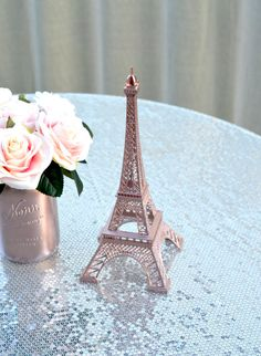 ROSE GOLD Eiffel Tow