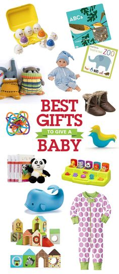 Got a baby on your holiday list? Best Gifts for Babies.