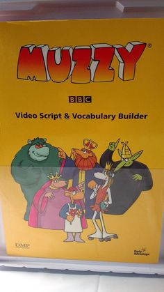 MUZZY BBC Learning Course For Children GERMAN Version Eraly Advantage System