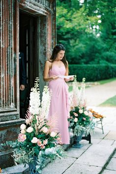 Dessy Bridesmaids, find it at Mary Me Bridal.