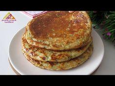 DELICIOS! Fără frământare și în tigaie 🔝 !! BUNĂ ȘI UȘOR DE UIMITOR. DEJUNARE AK - YouTube Easy Bread, Pancakes, Pizza, Treats, Cooking, Breakfast, Food, Morning Coffee, Recipes