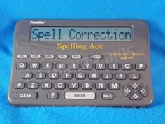 Franklin SA-98 Electronic Spelling Ace Words from Franklin 1994 Spell Check Game in Consumer Electronics, Gadgets & Other Electronics, Dictionaries & Translators | eBay