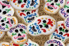 Mexican Sugar Skull Cookie Recipe