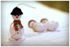 BAŁWANEK na choinkę - MadelinART - Dekoracje bożonarodzeniowe