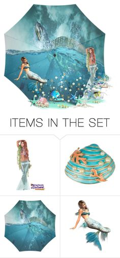 """""""Mermaid!"""" by schneerose ❤ liked on Polyvore featuring art"""