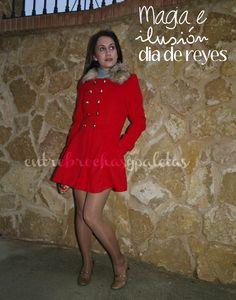 Día de reyes | Outfit con abrigo rojo http://www.entrebrochasypaletas.com/2014/01/dia-de-reyes-outfit-con-abrigo-rojo.html #sammydress #virusmoda #loeds #calzedonia #streetstyle