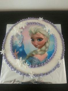 Frozen taart met botercreme