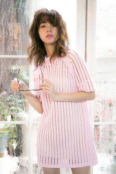 画像 Cute Japanese Girl, My Idol, Short Sleeve Dresses, Turtle Neck, Singer, Actresses, Long Hair Styles, Female, Lady