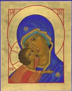 Mother of God Pikko Sironen Religious Icons, Religious Art, Byzantine Icons, Holy Mary, Roman Catholic, Madonna, Art Gallery, Christian, Drawings