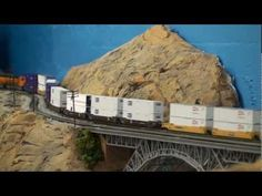 N Scale layout with lot of action