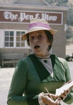 Katherine  MacGregor in Little House on the Prairie
