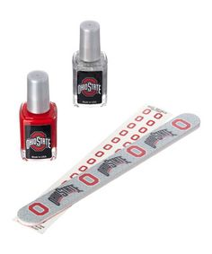 Ohio State Buckeyes Nail Polish Set