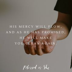 Are You Clean? | Daily Devotions for Women | Christian | Catholic | Mercy