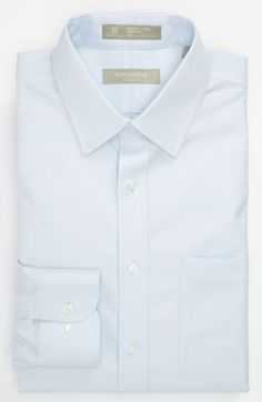 69f3c33eaa08e Nordstrom Smartcare™ Wrinkle Free Herringbone Trim Fit Dress Shirt  available at