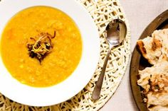 Lemon red lentil and pumpkin soup recipe, Viva – visit Eat Well for New Zealand recipes using local ingredients - Eat Well (formerly Bite) Pumpkin Soup Nz, Pumpkin Recipes, Side Recipes, Light Recipes, Vegan Recipes, Food Hub, Fresh Ginger, Recipe Using, Soups And Stews