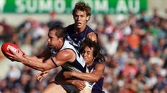Crows and Dockers fight it out at Subiaco
