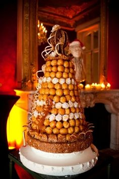 wedding croquembouche Paris © Studio Cabrelli #wedding