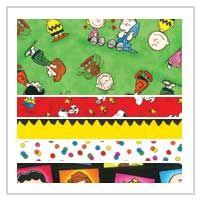 Peanuts fabric medley
