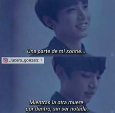 One part of me smiles.while the other dies for inside, without be noticed. Frases Bts, Bts Lyric, Sad Life, Im Sad, Bts Quotes, Bts Memes, Nostalgia, Depression, How Are You Feeling