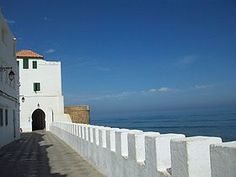 Assilah,Morocco  http://upload.wikimedia.org/wikipedia/commons/thumb/c/c4/Assilah_Waterfront1.jpg/280px-Assilah_Waterfront1.jpg