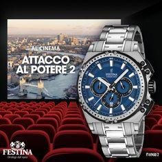 Giovedì: cinema? @GerardButler, nuovo testimonial Festina, è protagonista del film d'azione Attacco al potere 2. Imperdibile! Andrete a vederlo?