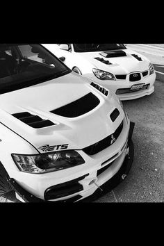 V8 killers evo 9 and subie