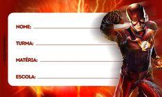 Etiqueta Volta as Aulas Flash 2 Flash Boys, The Flash, Papel Sticker, School Labels, Everton, Party Themes, Lol, Frozen, Scrap