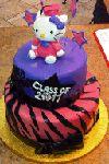 graduation cake - Hello Kitty! cestsibonbakery