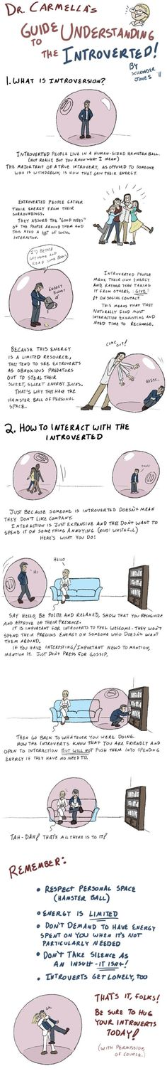 Funny pictures about Guide to understanding the introverted. Oh, and cool pics about Guide to understanding the introverted. Also, Guide to understanding the introverted. Noam Chomsky, Online Comics, So True, Just In Case, Feelings, Words, Motivation, Fandoms, Blog
