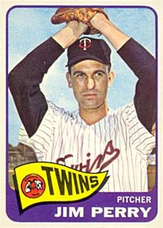 1965 Topps Jim Perry