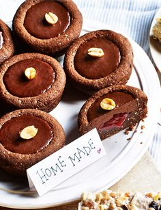 Peanut butter and jelly cookie cups - Sainsbury's Magazine