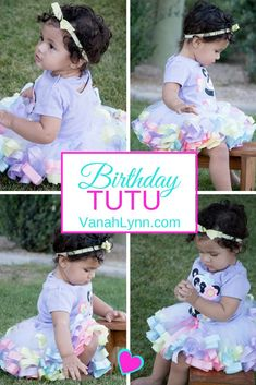 Let your little one be a #Princess on their special day. Your #BirthdayGirl will have fun twirling and dancing in their #PartyWear. This tutu is made with high quality tulle and satin ribbon. Comes in newborn to size 12 (custom sizes and styles available upon request). Find this #Tutu today and many others at vanahlynn.com |                   | Vanah Lynn Designs | Kids Birthday Party Ideas | Birthday Outfit Ideas For Girls | #VanahLynn #PartyPlanning #PartyOutfit #UnicornParty
