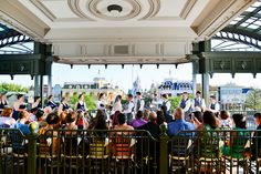 Magic Kingdom Train Station Wedding Ceremony