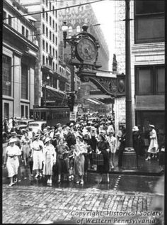 Kaufmanns clock Pittsburgh