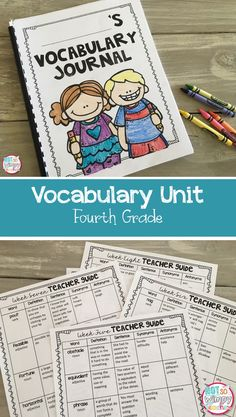 Everything you need to teach, practice and assess fourth grade  vocabulary! Even covers affixes and roots. Perfect for text prep!